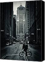 Cbot Canvas Prints - Chicago Gotham - Board of Trade Building Canvas Print by Tim Fogarty