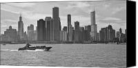 Fineartam Canvas Prints - Chicago Lakeside Canvas Print by Michael Avory