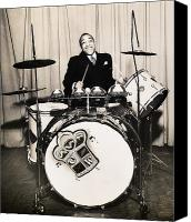 Music Photo Canvas Prints - Chick Webb (1909-1939) Canvas Print by Granger