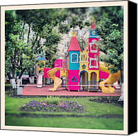 Children Photo Canvas Prints - Childrens Paradise. (: #children Canvas Print by Orange Fox