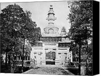 Tibetan Buddhism Canvas Prints - CHINA: CENOTAPH, c1900 Canvas Print by Granger