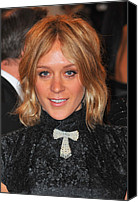 Metropolitan Museum Of Art Costume Institute Canvas Prints - Chloe Sevigny At Arrivals For Alexander Canvas Print by Everett