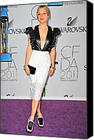 The 2011 Cfda Fashion Awards Canvas Prints - Chloe Sevigny Wearing Chloe Sevigny Canvas Print by Everett