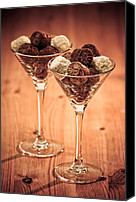 Selection Canvas Prints - Chocolate Truffles Canvas Print by Christopher Elwell and Amanda Haselock