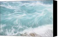 Water Art Canvas Prints - Choppy Waters Canvas Print by Vince Cavataio - Printscapes