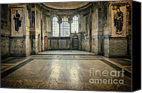 Byzantine Photo Canvas Prints - Chora Nave Canvas Print by Joan Carroll