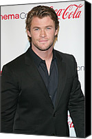 Awards Canvas Prints - Chris Hemsworth In Attendance For 2011 Canvas Print by Everett