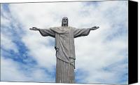 Gesturing Canvas Prints - Christ the Redeemer Canvas Print by Paul Landowski