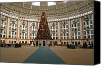 West Baden Canvas Prints - Christmas at West Baden Canvas Print by Sandy Keeton