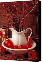 Xmas Canvas Prints - Christmas still life Canvas Print by Garry Gay