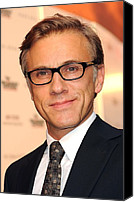 At Arrivals Canvas Prints - Christoph Waltz At Arrivals Canvas Print by Everett