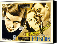 Posth Canvas Prints - Christopher Strong, Katharine Hepburn Canvas Print by Everett