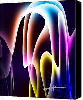 Chromatic Canvas Prints - ChromaSine Canvas Print by Anthony Caruso