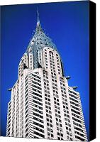 Building Canvas Prints - Chrysler Building Canvas Print by John Greim