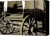 Chuck Wagon Canvas Prints - Chuck Wagon 1 Canvas Print by Scott Hovind