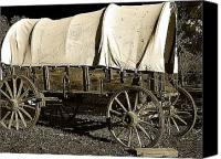 Hovind Canvas Prints - Chuck Wagon 2 Canvas Print by Scott Hovind