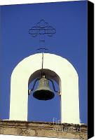 Copper Bells Canvas Prints - Church Bell Mexico Canvas Print by John  Mitchell