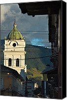 Sunset Canvas Prints - church in the city of Pasto. Republic of Colombia. Canvas Print by Eric Bauer