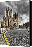 Cobbles Canvas Prints - Church of England Canvas Print by Adrian Evans