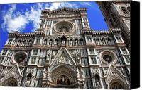 Michaelangelo Canvas Prints - Church of Santa Croce  Canvas Print by Harry Spitz
