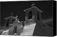 Jonathan Schreiber Canvas Prints - Church of St. Francis Canvas Print by Jonathan Schreiber