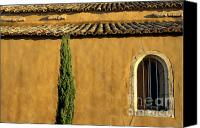 Traveller Canvas Prints - Church. Provence Canvas Print by Bernard Jaubert