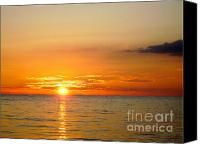 Cienfuegos Canvas Prints - Cienfuegos Sunset  Canvas Print by Laurel Fredericks