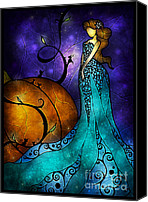 Faith Canvas Prints - Cinderella Canvas Print by Mandie Manzano