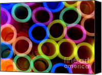 Ranjini Kandasamy Canvas Prints - Circles Canvas Print by Ranjini Kandasamy