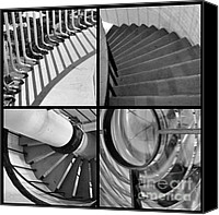 Spiral Staircase Canvas Prints - Circular Canvas Print by Luke Moore