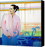Drips Canvas Prints - Citizen Cope - Seattle - The Showbox - May 28th 2007 Canvas Print by Pete Nawara