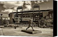 Phillies Canvas Prints - Citizens Park 1 Canvas Print by Jack Paolini