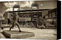 Phillies Canvas Prints - Citizens Park 2 Canvas Print by Jack Paolini