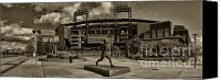 Phillies Canvas Prints - Citizens Park Panoramic Canvas Print by Jack Paolini