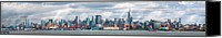 Skylines Canvas Prints - City - Skyline - Hoboken NJ - The ever changing skyline Canvas Print by Mike Savad
