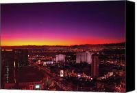 Thank Canvas Prints - City - Vegas - NY - Sunrise over the city Canvas Print by Mike Savad