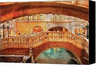 Venetian Canvas Prints - City - Vegas - Venetian - Arches Canvas Print by Mike Savad