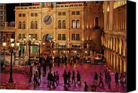 Venetian Canvas Prints - City - Vegas - Venetian - Entrance Canvas Print by Mike Savad