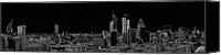 London Skyline Canvas Prints - City of London panorama Canvas Print by Gary Eason