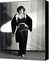 Pajamas Canvas Prints - Clara Bow, Around 1929 Canvas Print by Everett