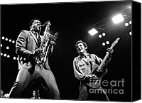 Springsteen Canvas Prints - Clarence and Bruce 1981 Canvas Print by Chris Walter