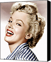 1950s Movies Canvas Prints - Clash By Night, Marilyn Monroe, 1952 Canvas Print by Everett