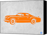 Iconic Design Canvas Prints - Classic Car 2 Canvas Print by Irina  March
