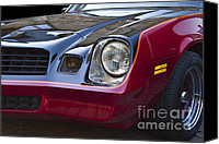 Antique Automobiles Canvas Prints - Classic Chevrolet Camaro Canvas Print by Heiko Koehrer-Wagner