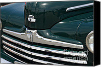 Hotrod Photo Canvas Prints - Classic Ford Super Deluxe 8 . 7D15265 Canvas Print by Wingsdomain Art and Photography