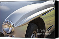 Antique Automobiles Canvas Prints - Classic Jensen 541 S Canvas Print by Heiko Koehrer-Wagner