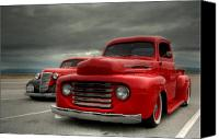Ford Hot Rod Canvas Prints - Classic Canvas Print by Patrick English