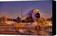 Aircraft Photo Canvas Prints - Classic Ride Canvas Print by William Wetmore