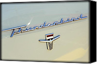 Custom Ford Canvas Prints - Classic T-Bird Canvas Print by Ricky Barnard