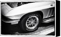 Fotos Canvas Prints - Classic Vette Canvas Print by John Rizzuto